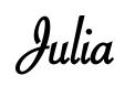 Julia Signaure